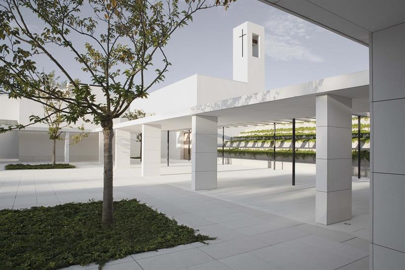"<a href=""http://backstage.worldarchitecturenews.com/wanawards/project/social-charity-institution-padre-rubinos/"" target=""_blank"">Social Charity Institution Padre Rubinos by Elsa Urquijo Architects</a>"