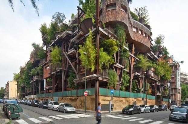 25 Green, Turin, Italy LUCIANOPIA - WAN Awards 2015 entry - Facades