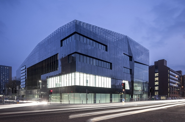 National Graphene Institute, Manchester, United Kingdom Jestico + Whiles - WAN Awards 2015 entry - Facades