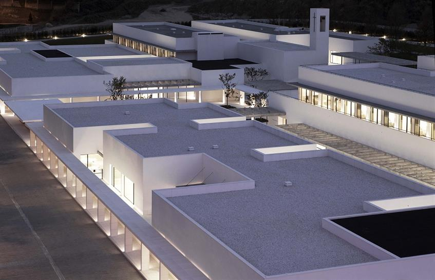 """<a href=""""http://backstage.worldarchitecturenews.com/wanawards/project/social-charity-institution-padre-rubinos/?source=sector&mode=listing&selection=longlist"""" target=""""_blank"""">Social Charity Institution Padre Rubinos by Elsa Urquijo Architects</a>"""