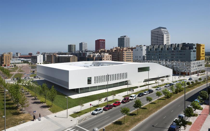 "<a href=""http://backstage.worldarchitecturenews.com/wanawards/project/salburua-civic-centre/?source=sector&selection=longlist"" target=""_blank"">Salburua Civic Centre</a> by IDOM ©Aitor Ortiz"
