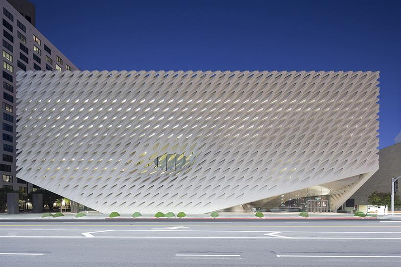 """<a href=""""http://backstage.worldarchitecturenews.com/wanawards/project/the-broad-new/?source=sector&selection=longlist"""" target=""""_blank"""">The Broad</a> by Diller Scofidio Renfro in collaboration with Gensler © Iwan Baan"""