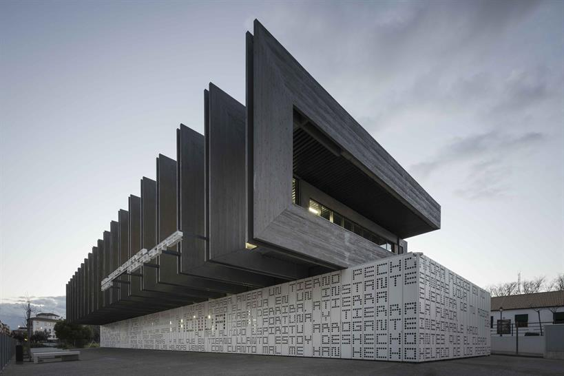 """<a href=""""http://backstage.worldarchitecturenews.com/wanawards/project/public-library-ronda-malaga/?source=sector&selection=longlist"""" target=""""_blank"""">PUBLIC LIBRARY - RONDA (MALAGA)</a> by © MMIT ARQUITECTOS"""