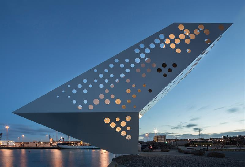 """<a href=""""http://backstage.worldarchitecturenews.com/wanawards/project/salling-tower/?source=sector&selection=longlist"""" target=""""_blank"""">Salling Tower</a> by Dorte Mandrup Arkitekter © Quintin Lake"""