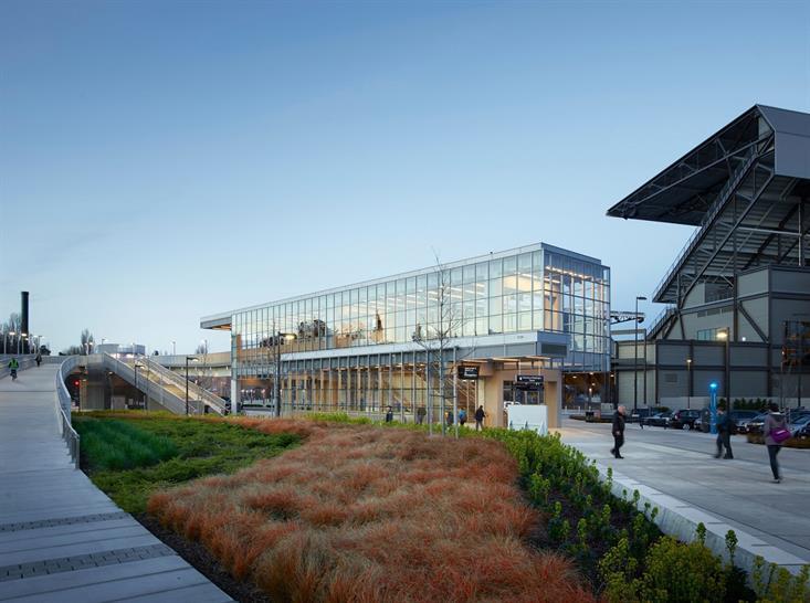 "<a href=""http://backstage.worldarchitecturenews.com/wanawards/project/sound-transit-university-of-washington-station-new/?source=sector&selection=longlist"" target=""_blank"">Sound Transit University of Washington Station</a> by LMN Architects ©  Kevin"
