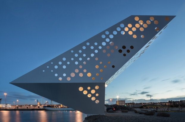 "<a href=""http://backstage.worldarchitecturenews.com/wanawards/project/salling-tower/?source=sector&selection=longlist"" target=""_blank"">Salling Tower</a> by Dorte Mandrup Arkitekter © Quintin Lake"