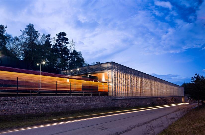 "<a href=""http://backstage.worldarchitecturenews.com/wanawards/project/siilitie-metro-station-new/"" target=""_blank"">Siilitie Metro Station</a> by Cederqvist &amp; Jäntti Architects &copy; Mika Huisman, Decopic Oy"