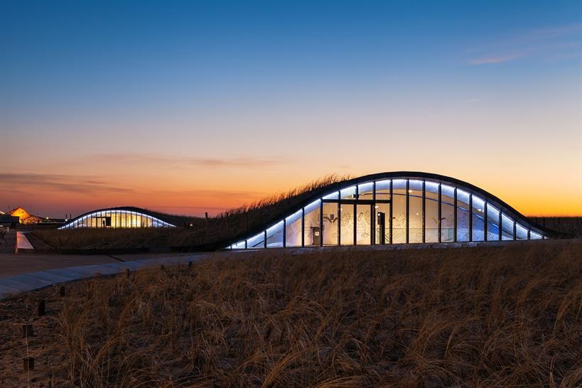 "<a href=""http://backstage.worldarchitecturenews.com/wanawards/project/kustwerk-katwijk/"" target=""_blank"">Kustwerk Katwijk</a> by Royal HasKoningDHV, ZJA Zwarts & Jansma Architects and Ballast Nedam © ZJA Zwarts & Jansma Architects"