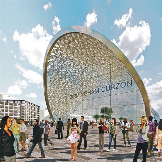 Birmingham Curzon HS2 Station, images from Birmingham City Council