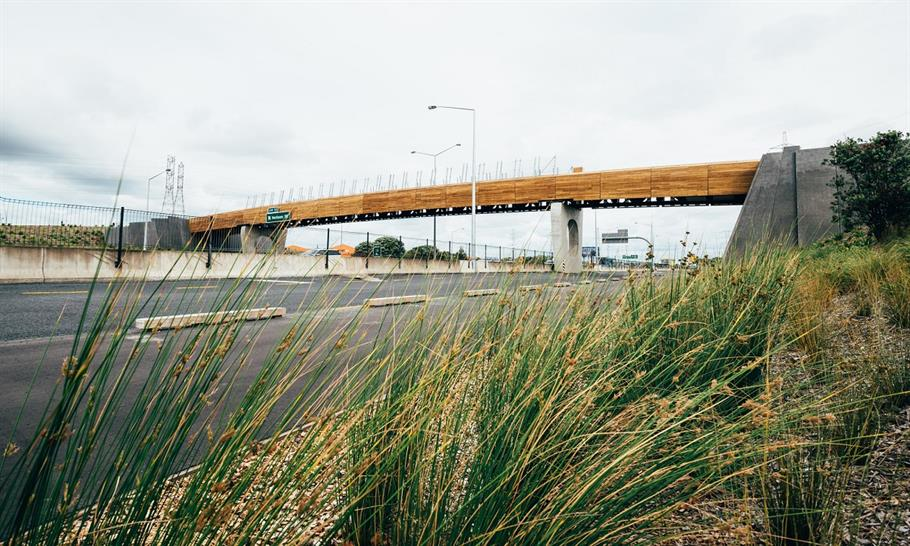 "<a href=""http://backstage.worldarchitecturenews.com/wanawards/project/taumanu-reserve-bridge-new/"" target=""_blank"">Taumanu Reserve Bridge</a> by Isthmus Group &copy; David St George"