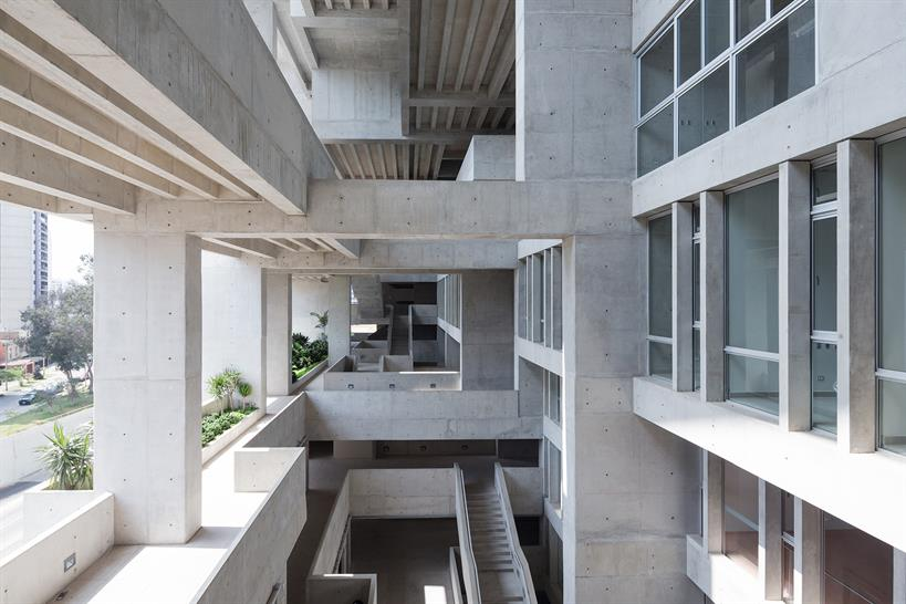 University building in Lima (Peru) by Grafton Architects