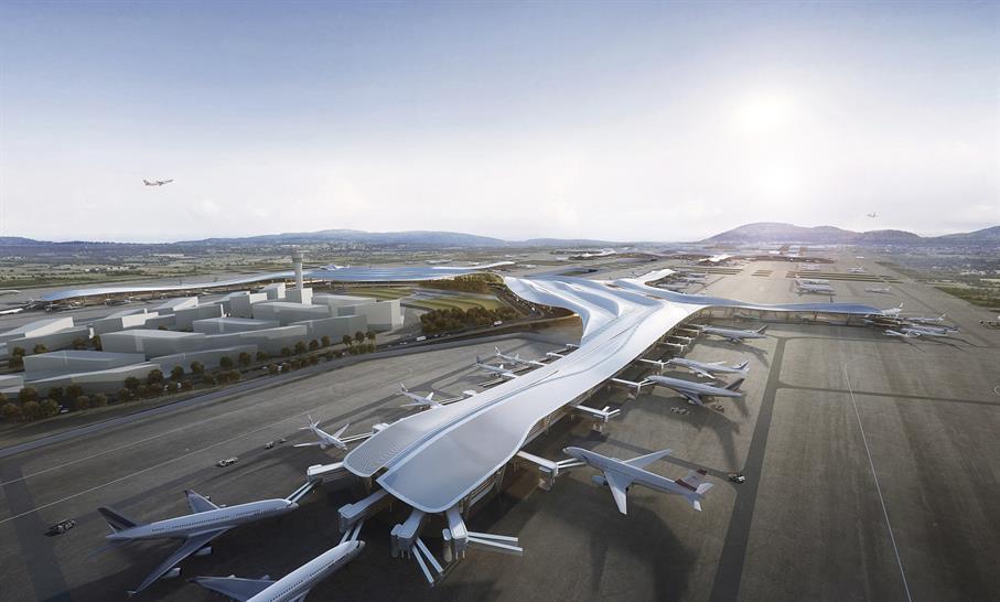 Chengdu International Airport, Chengdu, China, by Aedas