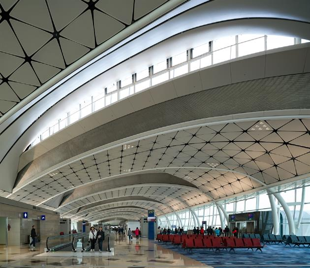 HKIA Midfield Concourse, Hong Kong, by Aedas