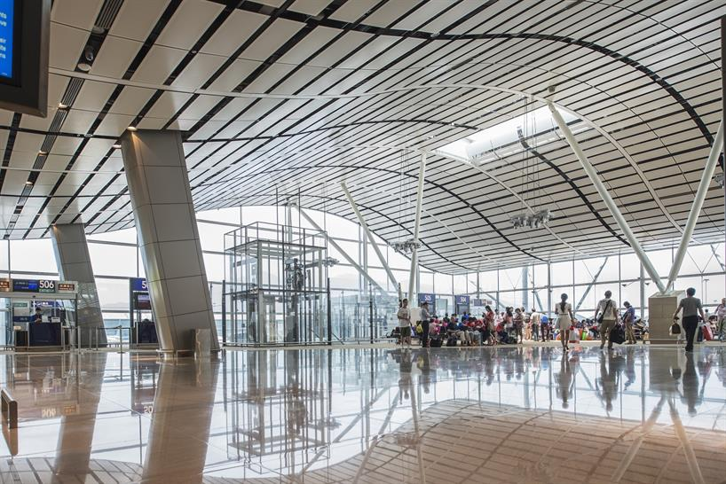 HKIA North Satellite Concourse, Hong Kong, by Aedas