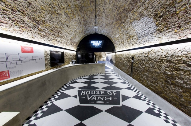 "<a href=""http://backstage.worldarchitecturenews.com/wanawards/project/house-of-vans-london-new/?source=sector&mode=listing&selection=longlist"" target=""_blank"">House of Vans London</a> by Tim Greatrex Architect + Pete Hellicar © Nathan Gallagher"