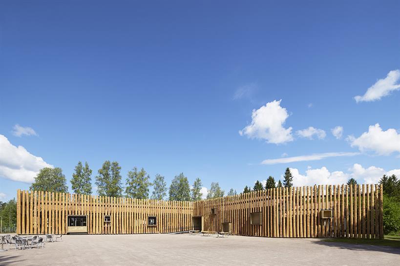 "<a href=""http://backstage.worldarchitecturenews.com/wanawards/project/torsby-finnskogscentrum/?source=sector&mode=listing&selection=longlist"" target=""_blank"">Torsby Finnskogscentrum</a> by Bornstein Lyckefors Arkitekter © åke Eson Lindman"