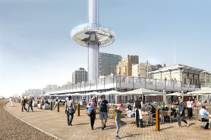 """<a href=""""http://www.worldarchitecturenews.com/project/2016/26277/marks-barfield-architects/i360-tower-in-brighton.html"""" target=""""_blank"""">Brighton"""