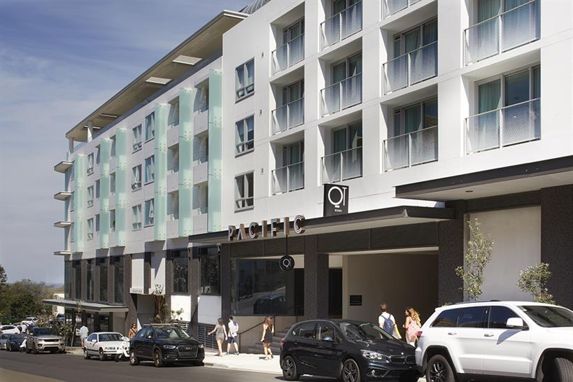 """<a href=""""http://backstage.worldarchitecturenews.com/wanawards/project/pacific-bondi-beach/?source=sector&selection=all"""" target=""""_blank"""">PACIFIC Bondi Beach</a> by PTW Architects © Sharrin Rees"""
