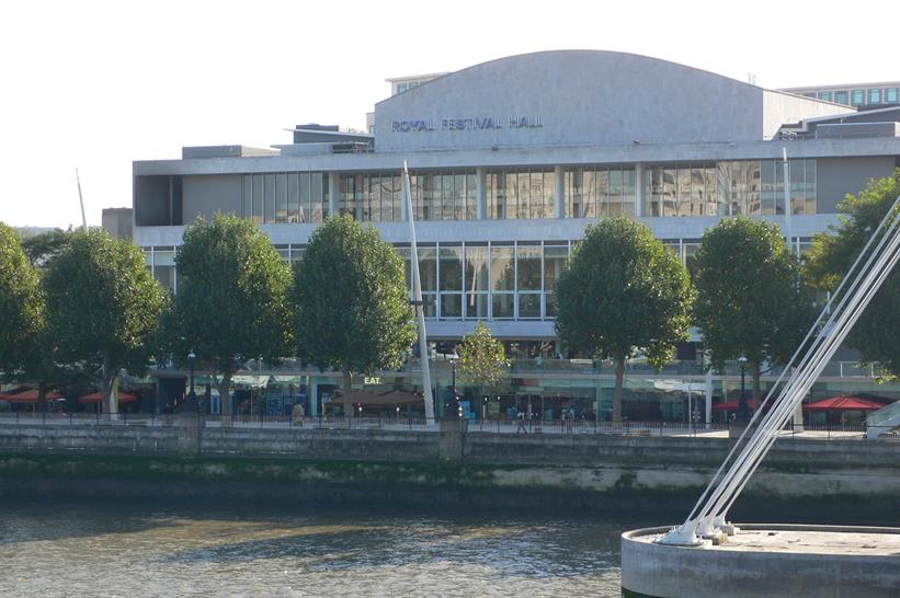 The Royal Festival Hall is one of London
