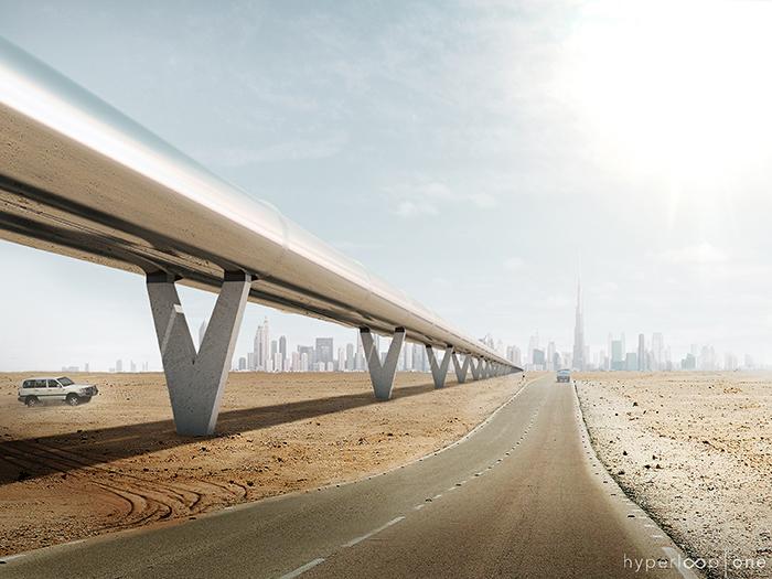 """2) <a href=""""http://bit.ly/2fBuTXT"""" target=""""_blank"""">Tech Spot #74: BIG and Hyperloop head for Dubai</a> © BIG-Bjarke Ingels Group"""