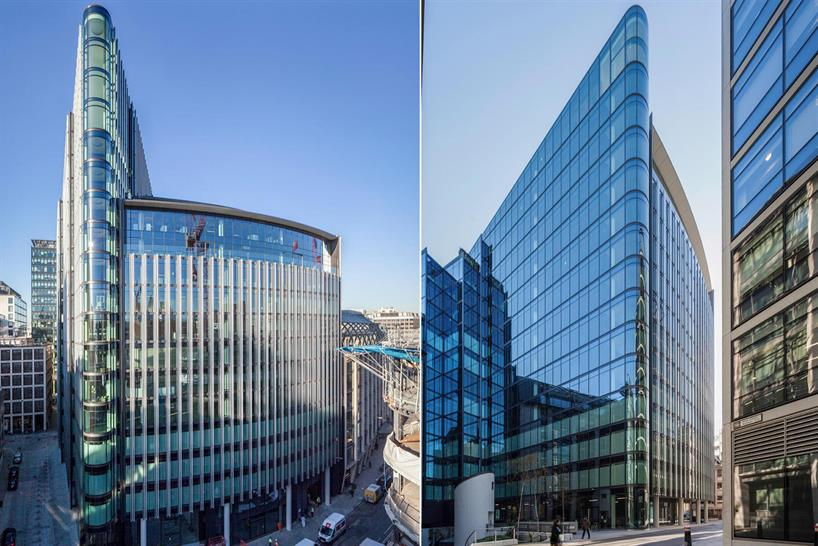 """<a href=""""http://backstage.worldarchitecturenews.com/wanawards/project/one-new-street-square/"""" target=""""_blank"""">One New Street Square</a> by © Robin Partington & Partners"""