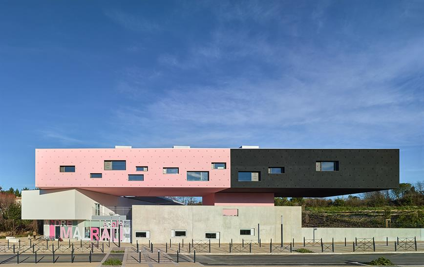 "<a href=""http://backstage.worldarchitecturenews.com/wanawards/project/andr-malraux-s-group-of-schools-in-montpellier/"" target=""_blank"">André Malraux's Group of Schools</a> by &copy; Dominique Coulon et associés"