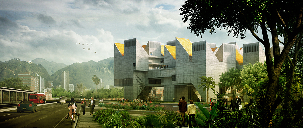 "<a href=""http://backstage.worldarchitecturenews.com/wanawards/project/national-museum-of-memory-bogot-colombia/"" target=""_blank"">National Museum of Memory</a> by estudio.entresitio and MGP arquitectura y urbanismo © estudio"