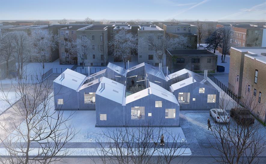 "<a href=""http://backstage.worldarchitecturenews.com/wanawards/project/tiny-homes/"" target=""_blank"">Tiny Homes</a> by © Jay Tsai"