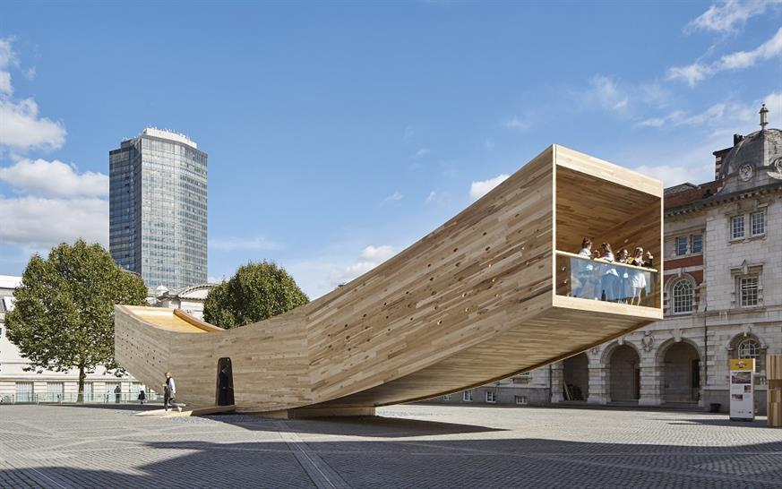 "<a href=""http://backstage.worldarchitecturenews.com/wanawards/project/the-smile/"" target=""_blank"">The Smile</a> by Alison Brooks Architects © Paul Riddle"