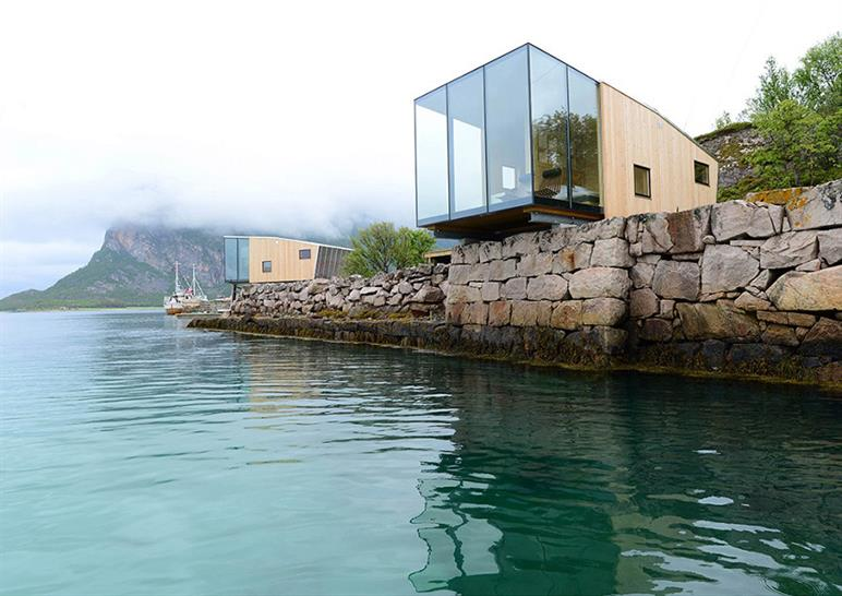 "<a href=""http://backstage.worldarchitecturenews.com/wanawards/project/manshausen-island-resort-new/"" target=""_blank"">Manshausen Island Resort</a> by Stinessen Arkitektur AS &copy; Steve King"