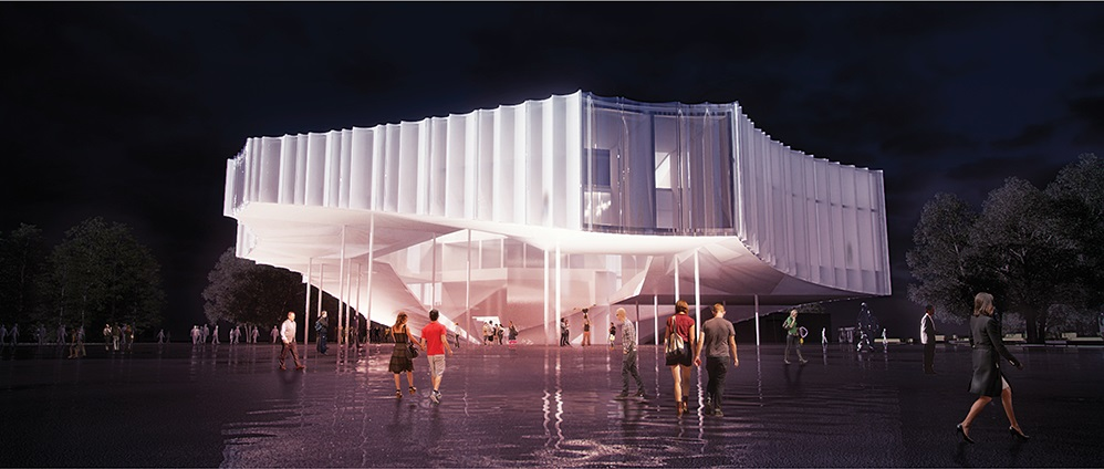 "<a href=""http://backstage.worldarchitecturenews.com/wanawards/project/circus-conservatory-of-america/"" target=""_blank"">Circus Conservatory of America</a> by © Höweler + Yoon Architecture"