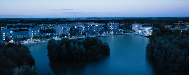 Landscape proposals by Bradley Murphey Design, courtesy Fletcher Priest Architects