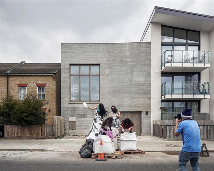Photography Studio for Juergen Teller in west London © Johan Dehlin