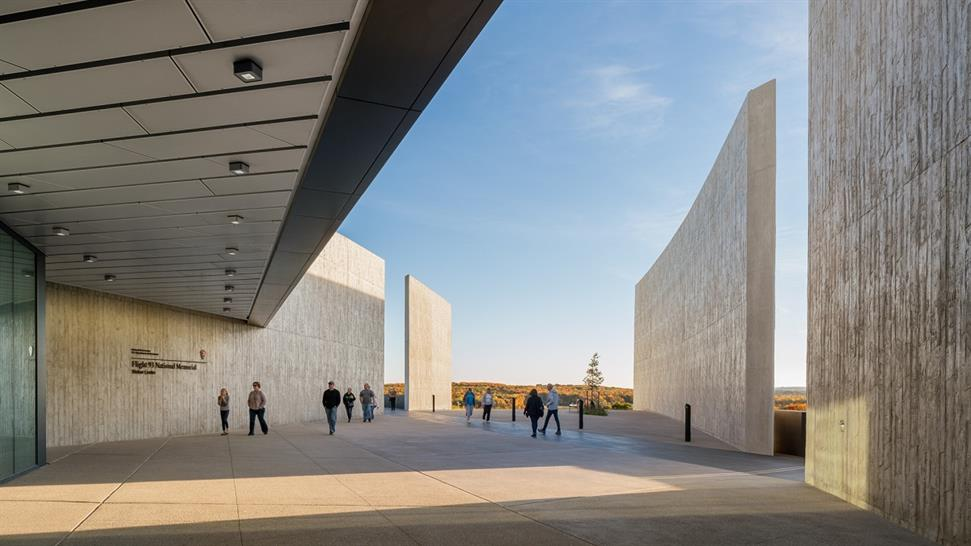 "<a href=""https://backstage.worldarchitecturenews.com/wanawards/project/flight-93-national-memorial/"" target=""_blank"">Flight 93 National Memorial</a> by Paul Murdoch Architects &copy; Eric Staudenmeier"