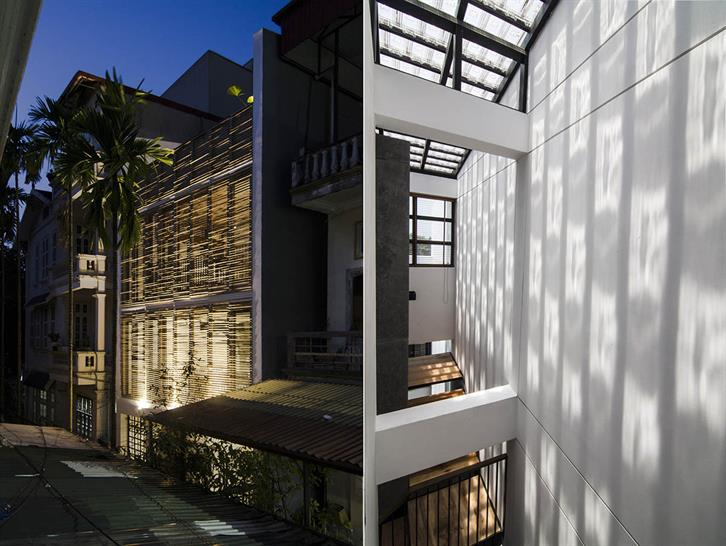 """<a href=""""https://backstage.worldarchitecturenews.com/wanawards/project/nha-than-thien-003/"""" target=""""_blank"""">Nha Than Thien 003</a> by Global Architects & Associates © NguyenQuocAnh, Nguyen Trung Kien"""