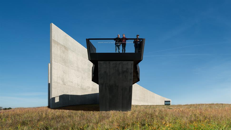 "<a href=""https://backstage.worldarchitecturenews.com/wanawards/project/flight-93-national-memorial/"" target=""_blank"">Flight 93 National Memorial</a> by Paul Murdoch Architects © Eric Staudenmaier Photography"