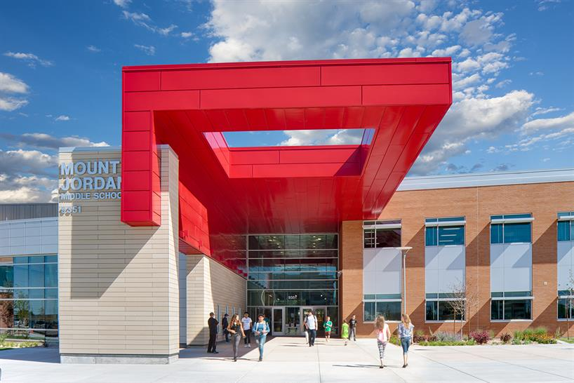 "<a href=""https://backstage.worldarchitecturenews.com/wanawards/project/mount-jordan-middle-school-new/"" target=""_blank"">Mount Jordan Middle School</a> by &copy; MHTN Architects"