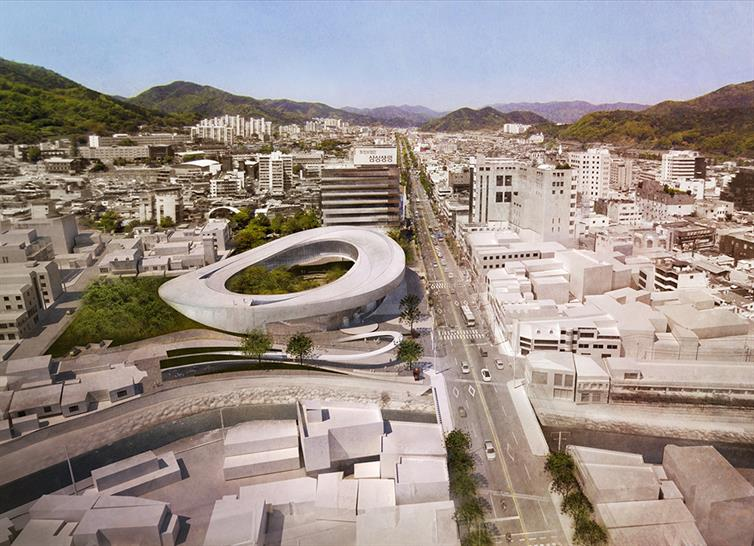 "<a href=""https://backstage.worldarchitecturenews.com/wanawards/project/open-gate-suncheon-art-platform/"" target=""_blank"">Open Gate- Suncheon Art Platform</a> by © Matteo Cainer Architects Ltd"