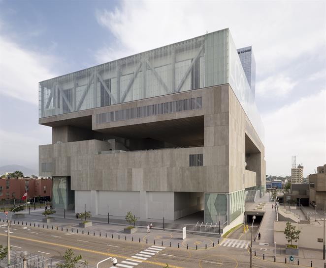 "<a href=""https://backstage.worldarchitecturenews.com/wanawards/project/lima-convention-centre/"" target=""_blank"">Lima Convention Centre</a> by IDOM © Aitor Ortiz"