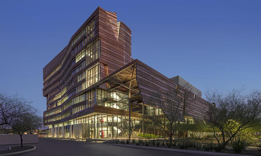 "<a href=""https://backstage.worldarchitecturenews.com/wanawards/project/biomedical-sciences-partnership-building/"" target=""_blank"">Biomedical Sciences Partnership Building</a> by CO Architects &copy; Bill Timmerman"