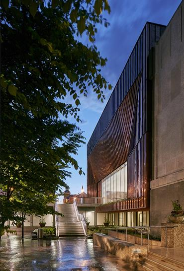 """<a href=""""https://backstage.worldarchitecturenews.com/wanawards/project/alloway-hall/"""" target=""""_blank"""">Alloway Hall</a> by Stantec Architecture Ltd &copy; James Brittain Photography"""