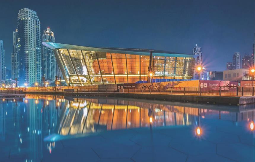 "<a href=""https://backstage.worldarchitecturenews.com/wanawards/project/dubai-opera/"" target=""_blank"">Dubai Opera</a> by Atkins © Lasvit"