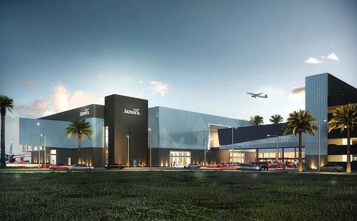 """<a href=""""https://backstage.worldarchitecturenews.com/wanawards/project/jazeera-airwarys-terminal/"""" target=""""_blank"""">Jazeera Airwarys Terminal</a> by © Pace"""