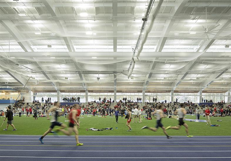 "<a href=""https://backstage.worldarchitecturenews.com/wanawards/project/middlebury-college-virtue-field-house-new/"" target=""_blank"">Middlebury College Virtue Field House</a> by Sasaki © Jeremy Bittermann"
