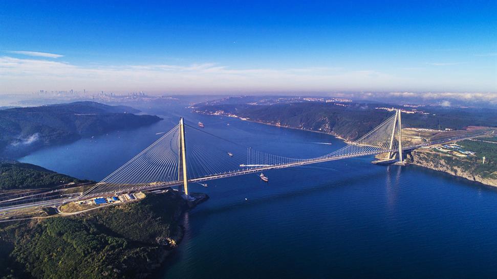 "<a href=""https://backstage.worldarchitecturenews.com/wanawards/project/yavuz-sultan-selim-bridge-istanbul/"" target=""_blank"">Yavuz Sultan Selim Bridge</a> by T engineering intl"