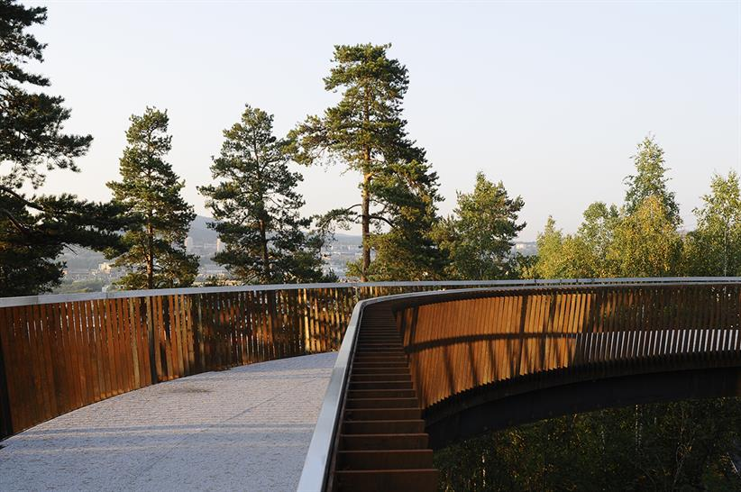 """<a href=""""https://backstage.worldarchitecturenews.com/wanawards/project/boomerang-and-jungle-footbridges/"""" target=""""_blank"""">Boomerang and Jungle footbridges</a> by Degree of freedom AS"""