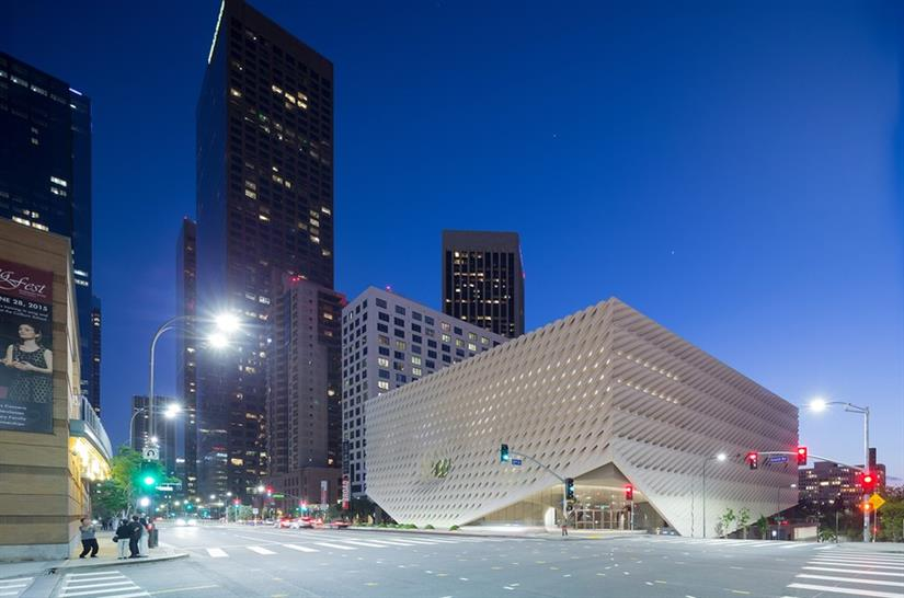 The Broad Diller Scofidio + Renfro, Gensler