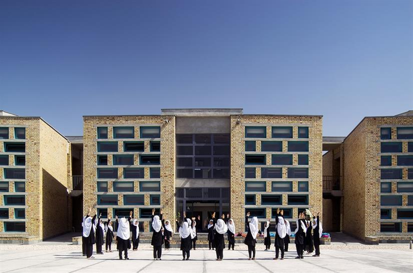 Gohar Khatoon Girls' School Robert Hull, FAIA, University of Washington, Department of Architecture