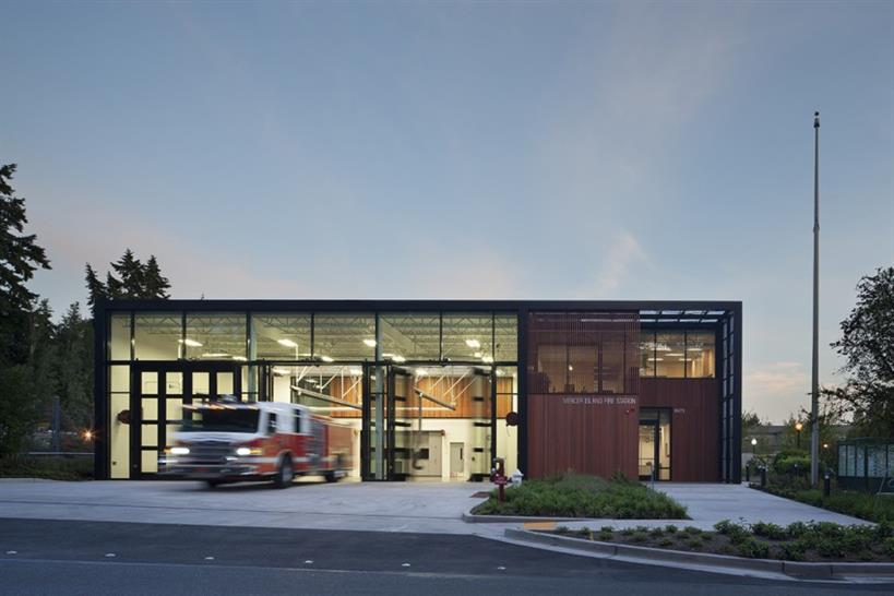 Mercer Island Fire Station 92 Miller Hull Partnership