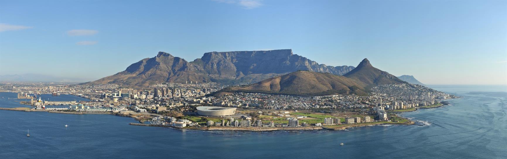 Table Mountain, Cape Town Stadium